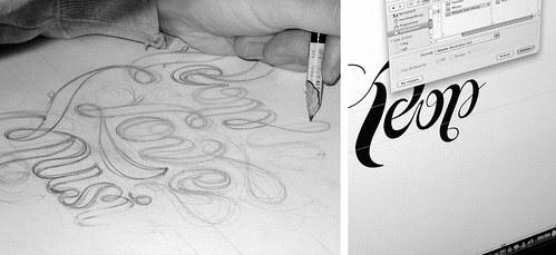 1-People Love Music typography graphic design via bureaubruneau