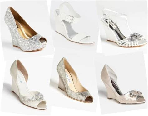 Wedding Shoes for Outdoor Wedding   Wedding Shoes Wedges