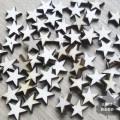 Małe gwiazdki z drewna- 20szt.