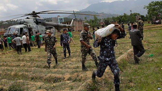 'Digital humanitarians' help relief effort in Nepal