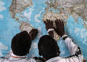 Nueve de cada diez niños migrantes llegan solos a las costas italianas