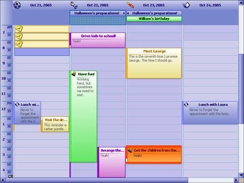 Planner.NET Free Download at datapicks.com - A calendar and ...