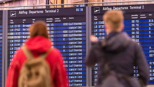 Strike forces Lufthansa to cancel 1,300 flights