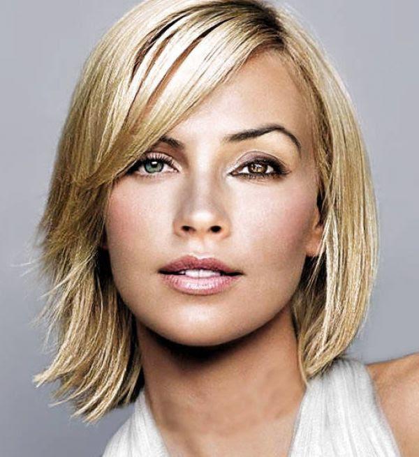 Medium Length Haircuts For Round Faces And Thin Hair Bpatello