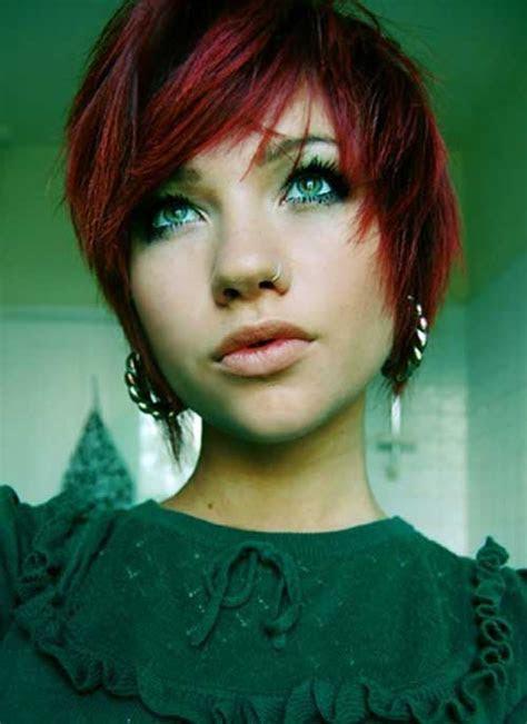 pixie red hair pixie cut