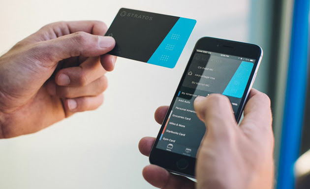 Stratos Bluetooth payment card