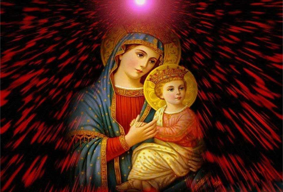 Most Beautiful Virgin mary Pictures Mother Mary Graphics Myspace Orkut Friendster Multiply Hi5 Websites Blogs