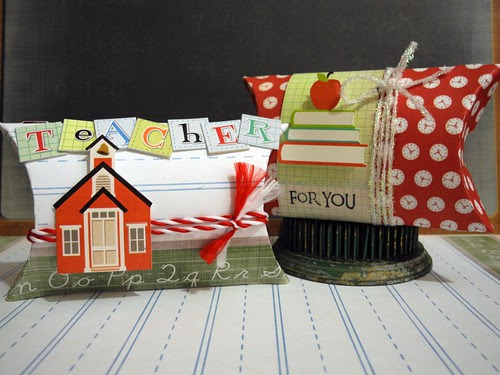 Teacher Gift Pillow Boxes