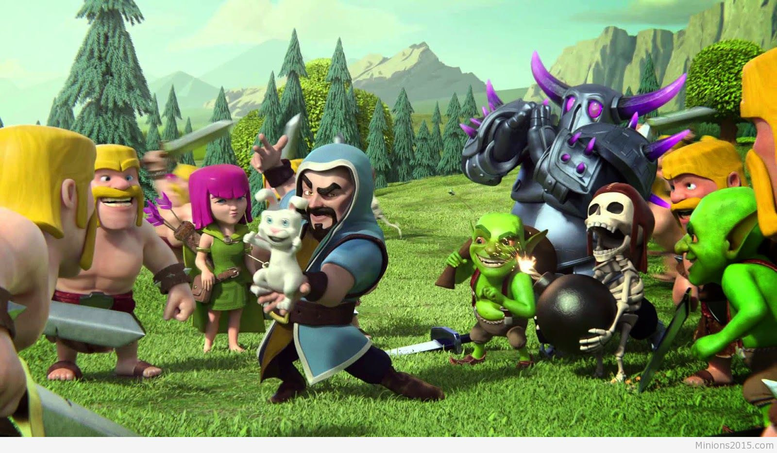 Download Clash Of Clans Wallpaper Hd 1080p Pc