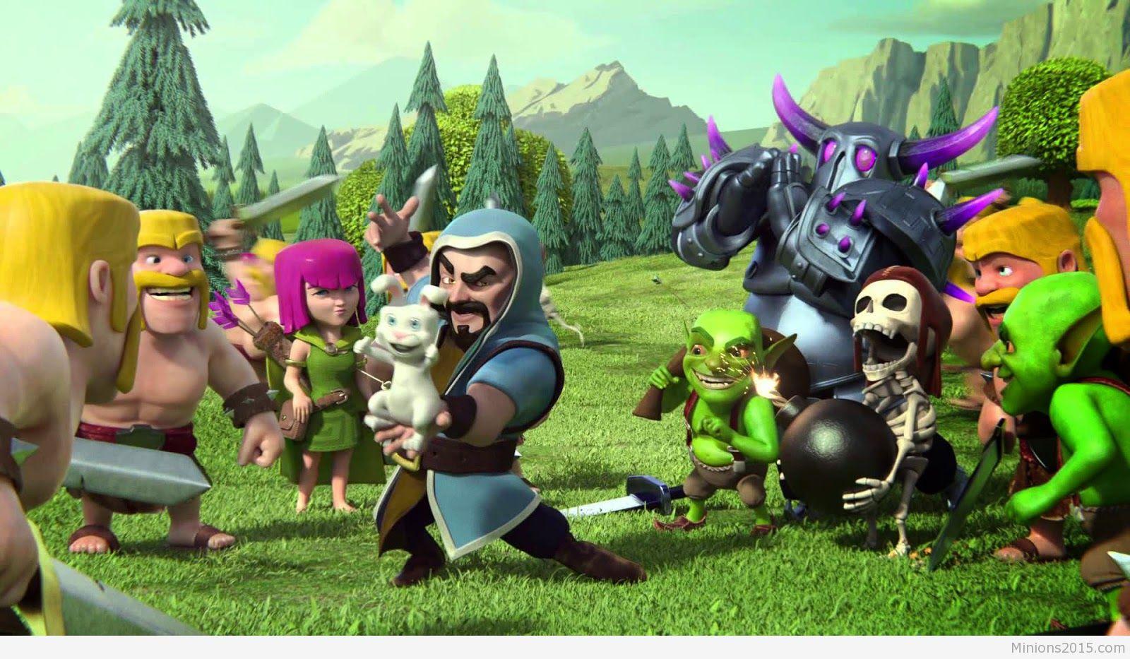 Download Clash Clans Wallpaper Hd 1080p Pc