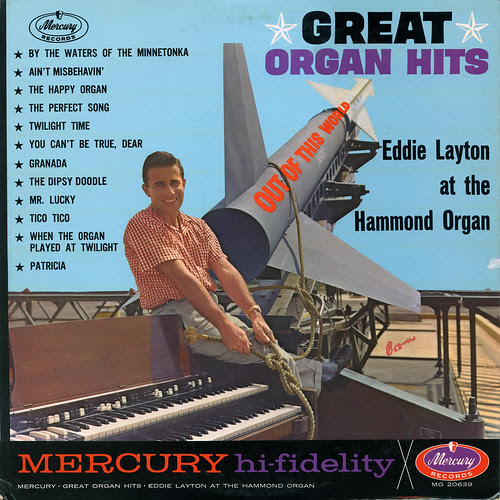Great Organ Hits Record Album Cover