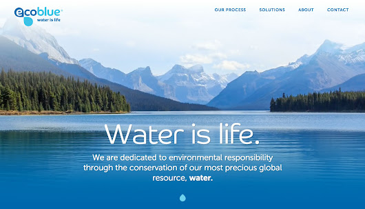 Ecoblue® | Water is life.
