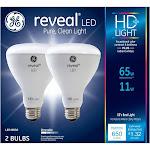 GE 30691 Reveal HD LED Light Bulb, 9 Watt