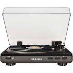 Crosley - T400A Stereo Turntable - Gray