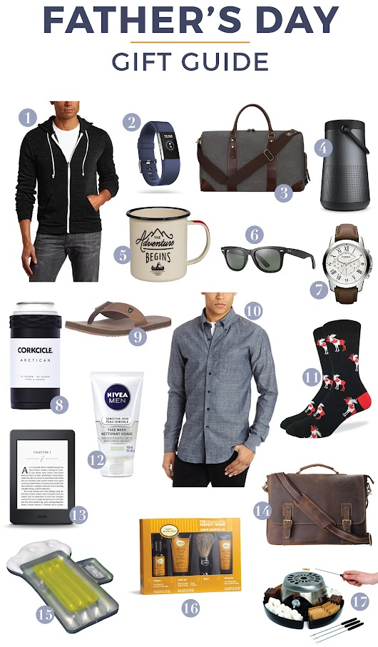 2017 Father's Day Gift Guide with Amazon.ca | Something About That