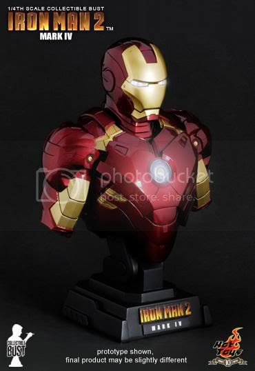 Homem de Ferro 2 - Sideshow & Hot Toys