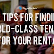 4 Tips for Finding World-Class Tenants for Your Rental