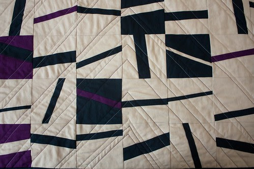 Hash Marks quilting detail