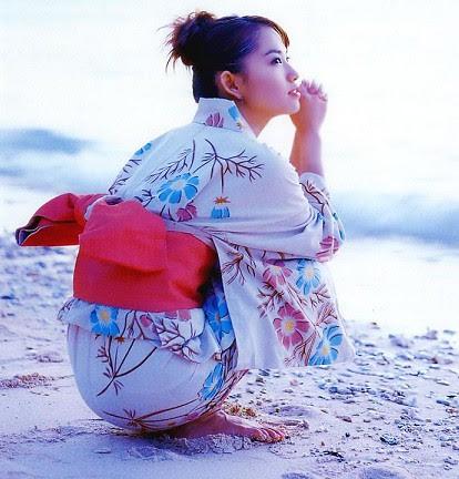 Beautiful girl in Kimono 2