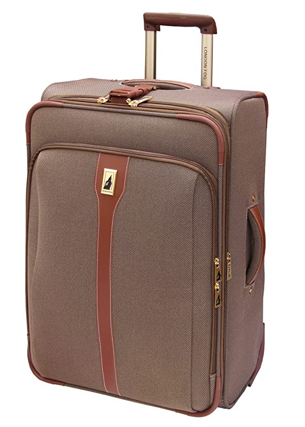 Amazon.com: London Fog Luggage Oxford II 25 Inch Upright Suiter ...