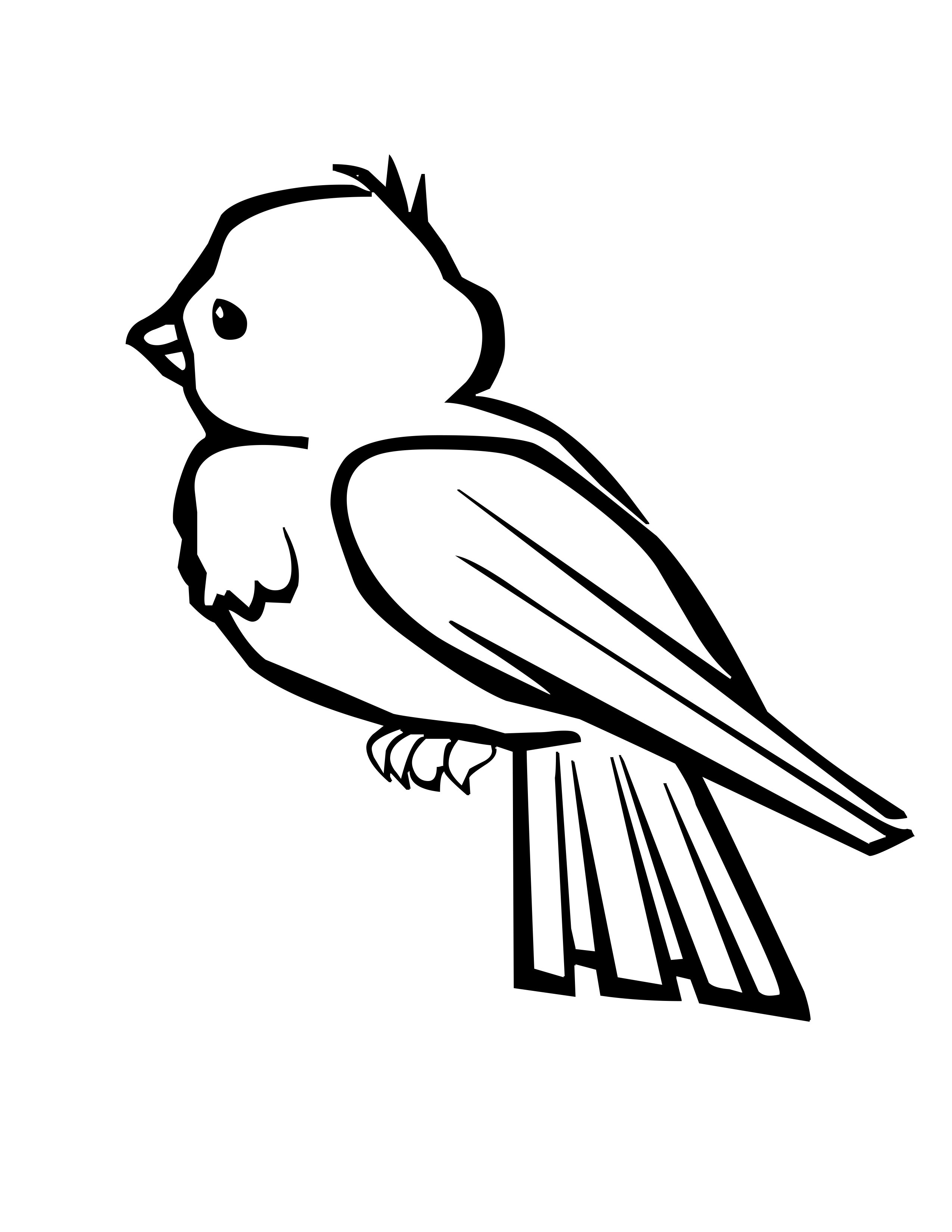 free printable coloring pages birds 2015