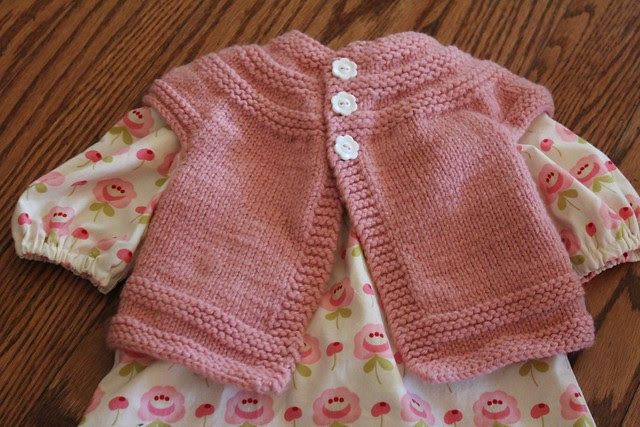 Pink In Threes Cardigan and Dress