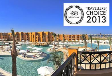 Piscina del Stella Makadi Beach Resort di Hurghada, Mar Rosso