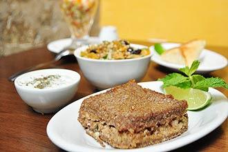 Menu light (R$ 29,90) do restaurante árabe Baruk, em São Paulo