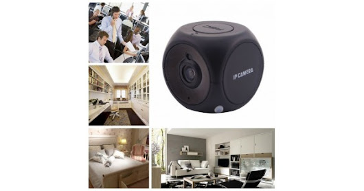 The Mini CUBE IP Camera