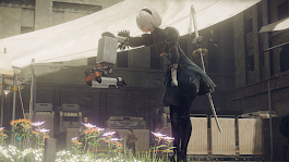 Nier Automata on Xbox: here's some 4K footage - VG247