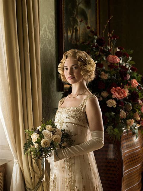 Downton Abbey: Lady Rose's wedding dress revealed in