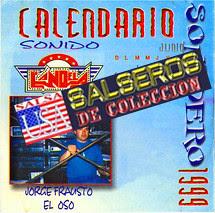 Calendario Sonidero 1999 Candela