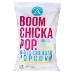 Angie's Boomchickapop White Cheddar Popcorn   4.5 oz Bags