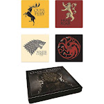 Game of Thrones - House Sigil Coaster Set