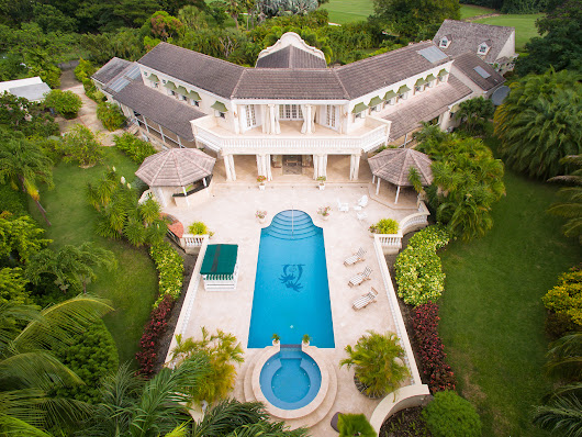Luxury Villa Real Estate Aerial Photography | recent aerial work from Above Barbados | Real Estate | aerial photography & video services in the Caribbean