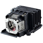 Canon Realis WX520 Projector Housing with Genuine Original OEM Bulb