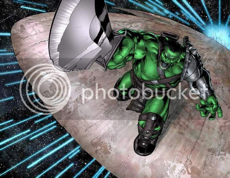 Hulk volta a Terra