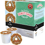 Keurig People Donut Shop Medium Roast Extra Bold Coffee K-Cups - 18 count, 0.39 oz each