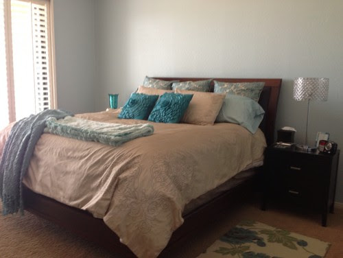 Need ideas for headboard and what to put above bed in my master ...