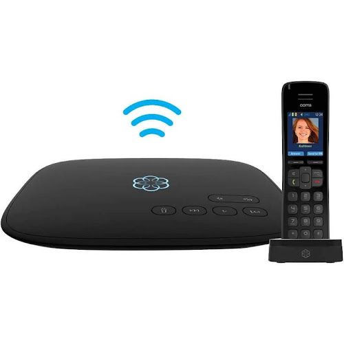 Ooma VoIP Telo Air 2 with HD3 Handset Home Phone Service