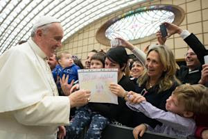 A picture released on December 22, 2014 by the Vatican …