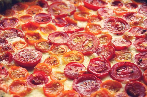 if the whole world was made of tomatoes it would look a bit like this.