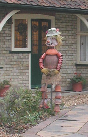 A Flower-pot man, like Bill, or Ben.