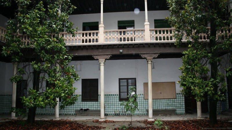 Patio central de la zona noble de la Casa Ágreda.