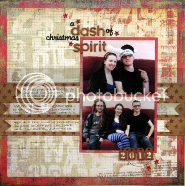 Layout - A Dash Of Christmas Spirit - Jimjams