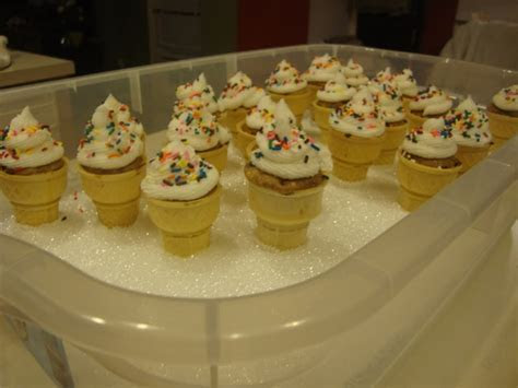 Ice Cream Cone Cupcake Holders Cupcakes   Cake Ideas by