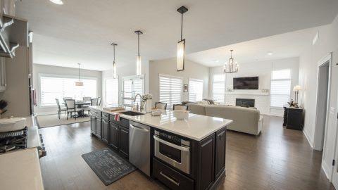 Broken Plan Or Open Plan Custom Floorplans Design Homes