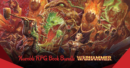 Humble Book Bundle: Warhammer RPG