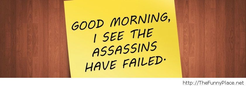 Good Morning Funny Saying Thefunnyplace