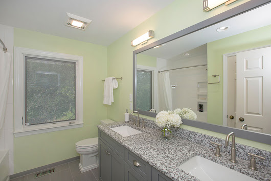 6 Bathroom Mirror & Light Design Ideas